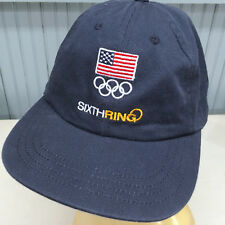 Sixth RIng USA Olympics Strapback Baseball Cap Hat
