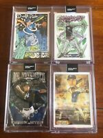 Derek Jeter Topps PROJECT 2020-4 Card Lot 1993 RC-JK5, Ben Baller, Ermsy, Theile