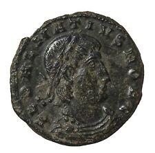 Delmatius 336-337 AD AE Follis Thessalonica Mint Ancient Roman Coin RIC.228