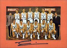 Real Madrid Baloncesto tripulación original autógrafo Autograph (w-9862