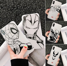 COVER CUSTODIA TPU MORBIDA MARVEL IPHONE 7 8 PLUS X XS XS MAX XR 11 PRO MAX SE
