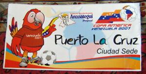 Copa America CONCACAF Venezuela 2007 Official Puerto La Cruz Large Size Sticker