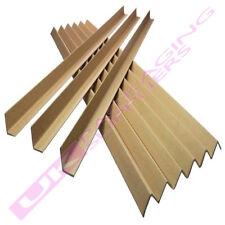 More details for 25 strong cardboard 1 metre pallet edge guards protectors 35mm l shape  profile