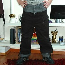 FRANKIE MORELLO MILAN Hip hop pants pantalone cotone size 46 grigio nero