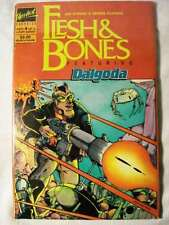 FLESH AND BONES FEATURING DALGODA 4 ISSUE SERIES (1986, Upshot Graphics)  FP NM