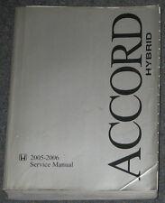 2005 2006 Honda Accord Hybrid Service Manual