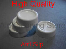 Appliance de machine à laver absorbeur de chocs anti vibration tapis pieds (Pack de 4)