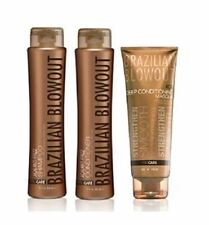 Brazilian Blowout Anti Frizz Shampoo & Conditioner Duo With Deep Conditioning Ha