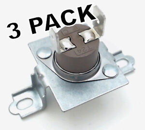 3 Pk, Dryer Thermal Fuse Kit for Whirlpool, Maytag, AP6009129, WP40113801
