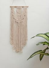 Handmade Macrame Wall Hanging Woven Wall Art Macrame Tapestry Boho Wall Decor 98