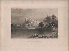 """India/Antiguo Impresiones - """"shuhur-jeypore"""" H"""" - dibujado por la capitana Elliot (1840)"""