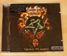 SUPERJOINT RITUAL 'USE ONCE AND DESTROY' - CD ALBUM - PANTERA / DOWN