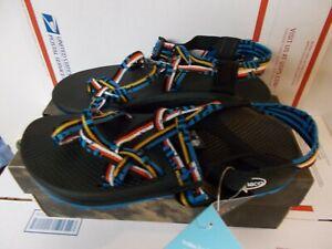 NIB Womens Misprint Blue Chaco Zcloud X2 Sandals New $110 JCH108004