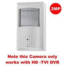 1080P HD TVI CCTV COVERT HIDDEN SPY PIR CAMERA WITH SONY IMX323 SENSOR 5-10m IR