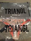 Triangl / Bikini Bottom & Carry Bag / Coco Stardust/ size XL Brand NEW!!