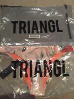 Triangl / Bikini Bottom & Carry Bag / Coco Stardust/ size XL Brand NEW!!