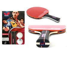 Butterfly Pan Asia S10 Table Tennis Racket Pingpong Racket & Ball Shakehand Rack