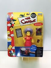 THE SIMPSONS INTERACTIVE PATTY BOUVIER ACTION FIGURE SERIES 4-NEW