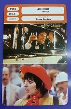 US Comedy Arthur Dudley Moore Liza Minnelli John Gielgud French Film Trade Card