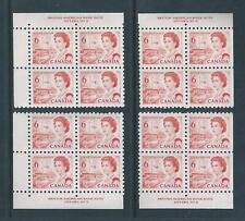 Canada #459 PL BL #2 Centennial Matched Set Plate Block MNH