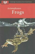 Aristophanes: Frogs by Judith Affleck 9780521172578   Brand New