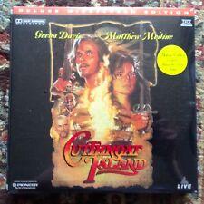 Cutthroat Island / Widescreen -  Laserdisc - NIB NEW SEALED