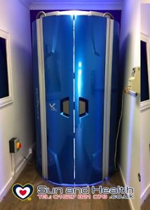 Hapro V5 Stand Up Vertical Sunbed (1 of 5 Available) A1 Condition NEW 0.3 Lamps