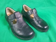 Finn Comfort Therapeutic Nashville Black Leather Women's Shoes Size EUR 41 US 10