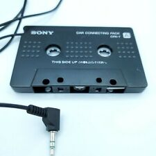 b47 Sony Car Connecting Pack Cpa-7 Cassette Adapter Mp3 Cd Genuine Oem 3.5mm