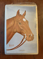 Vintage NEW SEALED Horse Playing Cards 1 deck Horses Swaps 1950s