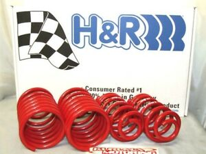H&R RACE LOWERING SPRINGS 99-05 BMW E46 SPORT