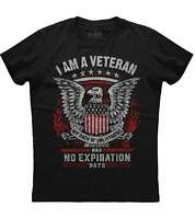 I Am A Veteran My Oath Of Enlistment Has No Expiration Date Black T-Shirt