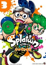 JAPAN NEW Splatoon 3 Sankichi Hinodeya manga book