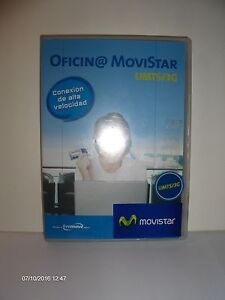 Bureau MOVISTAR Umts 3G Pcmcia