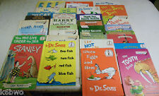 30+Hardcover I Can Read/Beginning Reader Books Dr. Seuss+Others Some Vintage
