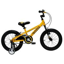 Heavy-Duty Yellow 18 in. Frame Bull Dozer Kids Bike with Super-Wide 3 in. Tires