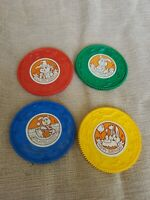Vintage TOMY Tuneyville Piano Records Player nursery rhymes replacement Lot of 4