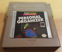 PERSONAL ORGANIZER for NINTENDO GAME BOY TESTED WITH FREE UK P&P