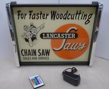 Lancaster Chain Saw Sales Service LED Display light sign box