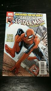 2008 MARVEL COMICS AMAZING SPIDER-MAN #546 1ST APP MR. NEGATIVE 1ST JACKPOT NM