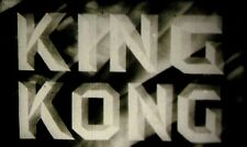 King Kong 1933 - 16mm Film Feature Uncut Horror Classic with Deleted Scenes