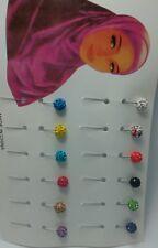 LOTTO all'ingrosso 50 Pack Hijab, Sciarpa, sicurezza, Spilla, Dupatta, scialle, ABEBA Pin