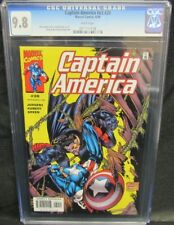 Captain America #v3 #30 (2000) Kubert Cover CGC 9.8 White Pages Y612