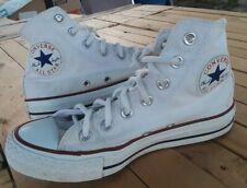White Converse Vintage U.s. Men Shoes Size 4.5