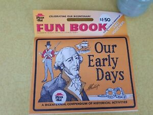 PIZZA HUT FUN BOOK  Celebrating Our Bicentenary: Historical Activities