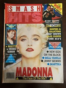 Madonna, Alice Cooper, Roxette, Debbie Gibson, Bobby Brown - Smash Hits 1990