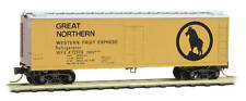 Micro-Trains Mtl N-Scale 40ft Wood Reefer Great Northern/Gn Western Fruit #72178