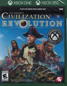 Sid Meier's Civilization Revolution [Microsoft Xbox 360 One Simulation] NEW