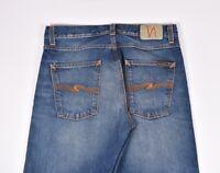 Nudie Jeans Verlässliche Eddie True Klassisch Herren Jeans Größe 32/32