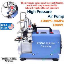 4500Psi Electric Air Compressor 30Mpa Auto Pump High Pressure Shut Yong Heng.Us